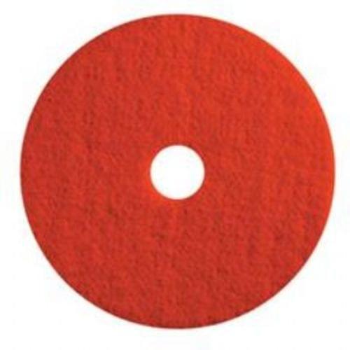 13 INCH RED BUFF PAD  5/CS