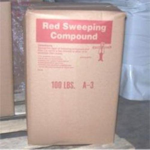 100# SANDED OIL BASE SWEEPING COMPOUND
