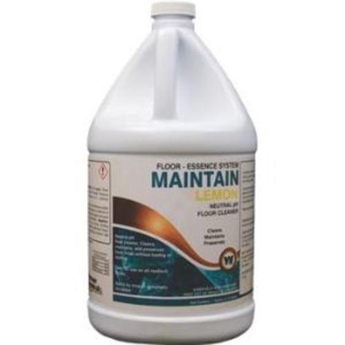 Maintain Neutral Ph Floor Cleaner, Lemon Scent 4 Gal/Case