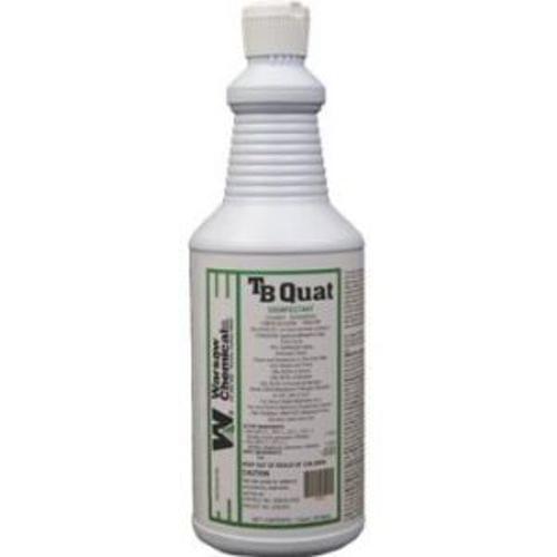 TB QUAT Disinfectant, Spray & Wipe Cleaner, Deodorizer 12QTS/CS