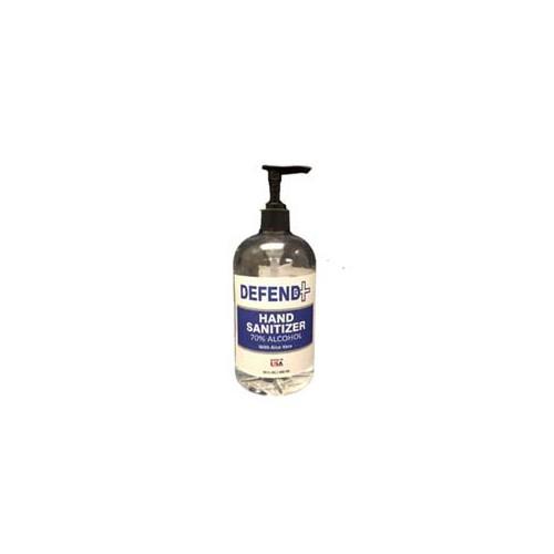 Defend Plus Alcohol Hand Sanitizer 16oz bottles, 24/cs