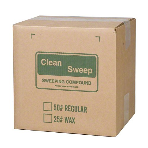 50#  SWEEPING COMPOUND Oil based no grit, green