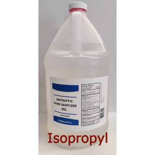 Isopropyl Alcohol Hand Sanitizer Gel 1 gallon