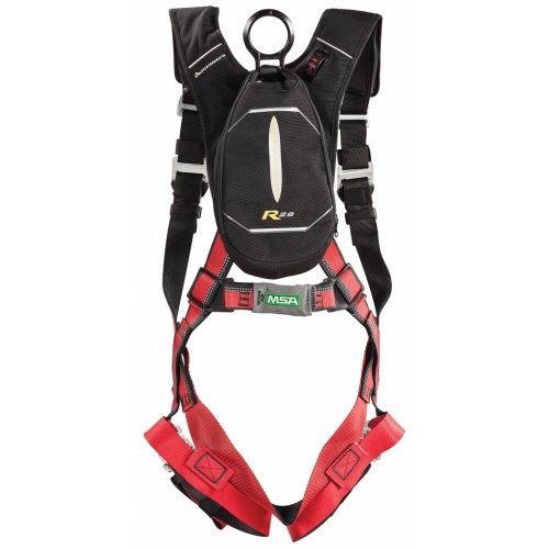 EVOTECH body harness, standard size, 65 ft line length, PRD (personal rescue device) - self-rescuing