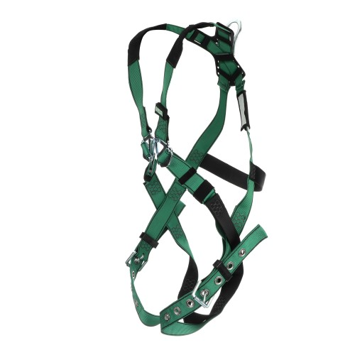 V-FORM full body harness, back D ring, standard size, tongue and buckle legs