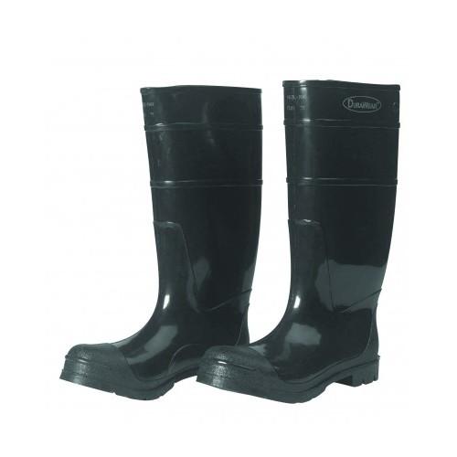 DURAWEAR® - PLAIN TOE PVC BOOTS, Size 8