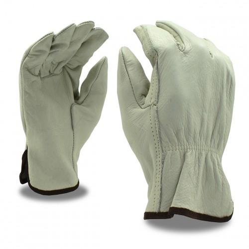 Cordova Driver, Cowhide, Standard, Grain Glove - L