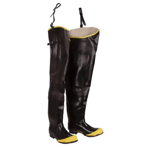 Cordova Rubber Boots, Hip, Steel-Toe, 8