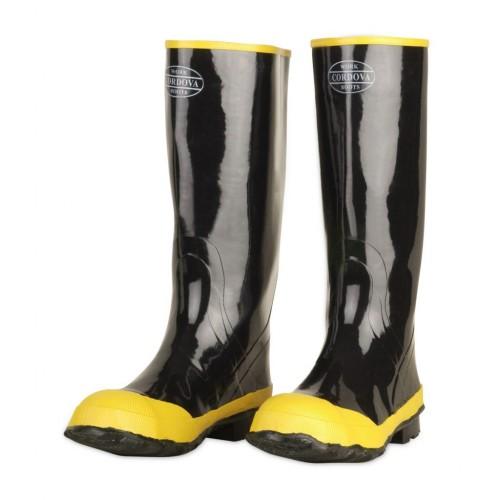 Cordova Rubber Steel Toe Boot, 10