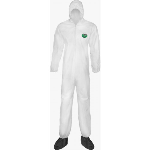 MicroMax® NS Coveralls - Hood/Boots, Size Medium
