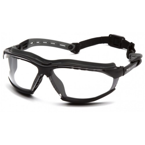 ISOTOPE CLEAR SAFETY GLASSES WITH H2MAX COATING