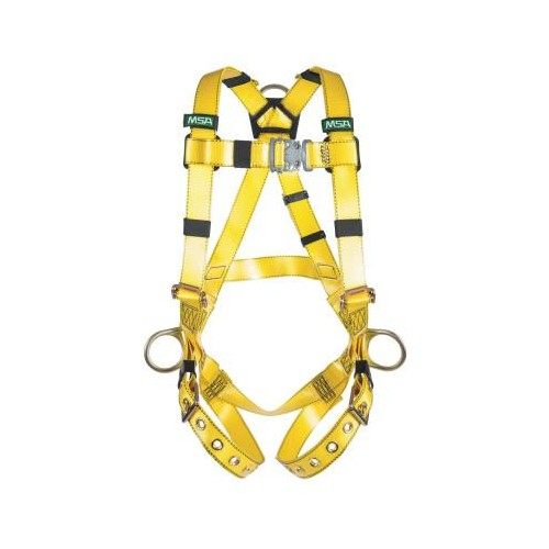 GRAVITY Urethane-coated harness, standard hardware, back and hip D rings, tongue and buckle legs, standard size
