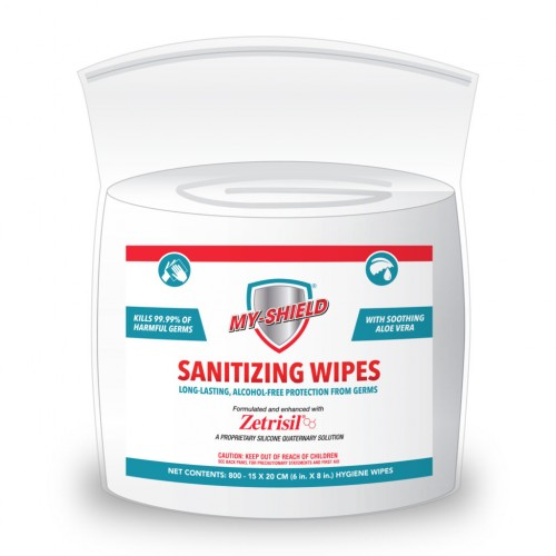 My-Shield Sanitizer Wipes 800ct