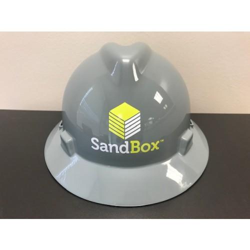 SANDBOX LOGO HARD HAT