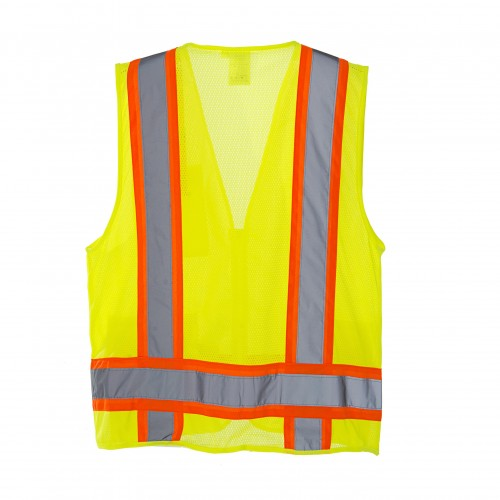 Surveyors Safety Vest, COR-BRITE™, Type R, Class 2, LG