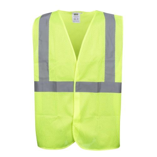 Safety Vest, Type R, Class 2, Mesh, LRG