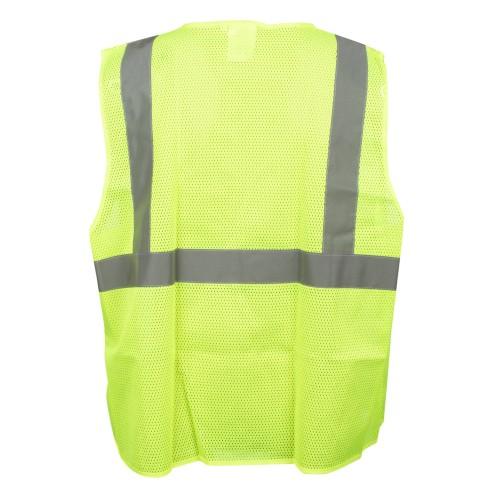 Safety Vest, Type R, Class 2, Mesh, 3XL