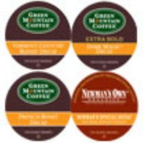 K-CUP DECAF VARIETY 6 BREAFAST, 6 NEWMAN'S, 6 DARK MAGIC, 4 VT COUNTY 22/BX