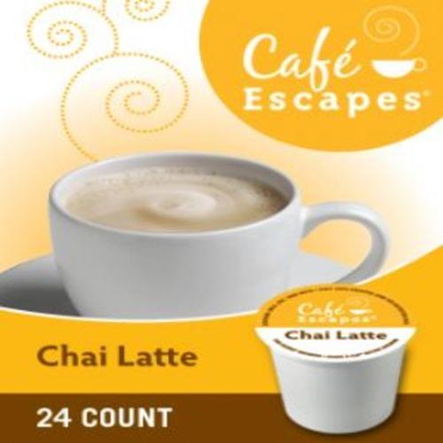 K-cup cafe escapes chai latte 24/bx
