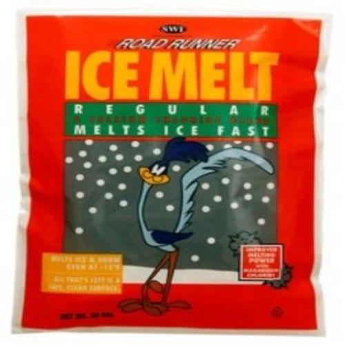 Road Runner Ice Melt calcium chloride blend flakes 50lb bag