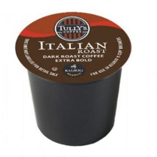 K-CUP TULLY'S ITALIAN ROAST 24/BX