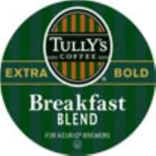 K-CUP TULLY'S BREAKFAST BLEND 24/BX