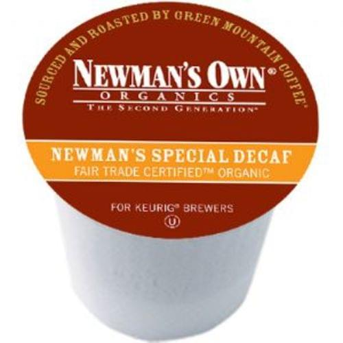 K-CUP NEWMAN'S OWN SPECIAL DECAF 24/BX