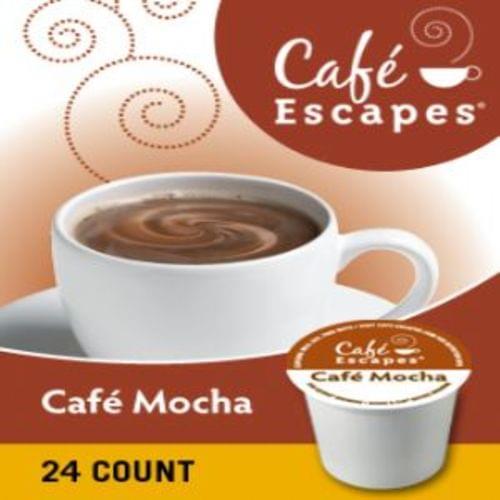 K-cup cafe escapes cafe mocha 24/bx