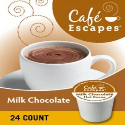 K-cup cafe escapes milk chocolate 24/bx