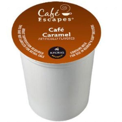k-cup cafe escapes cafe caramel 24/bx