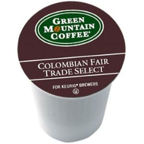 K-cup colombian fair trade 24/bx