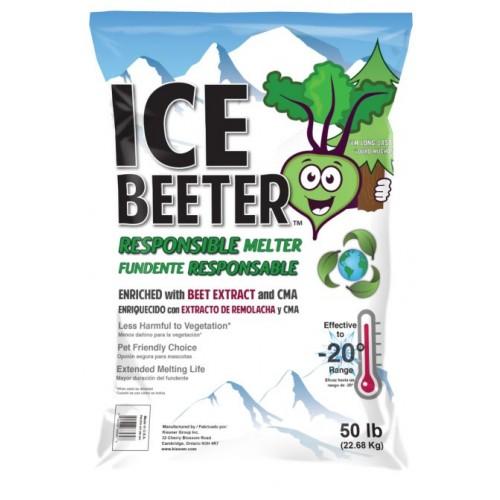 ICE BEETER MELT PLANT & PET FRIENDLY 50LB BAG