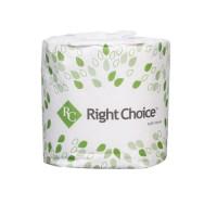 Bathroom tissue 2 ply white 96 rolls/case