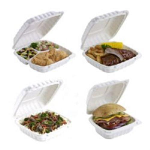 6x6 16oz EARTHCHOICE HINGED CONT-WHT 400