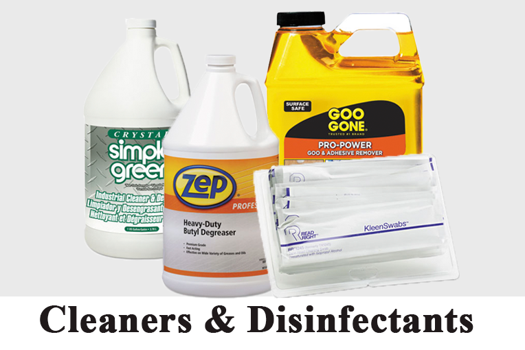 Cleaners & Disinfectants - Supplyfreak.com