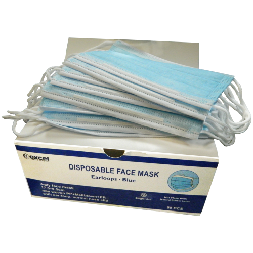 3 PLY FACE MASK  STOCKED NOW!