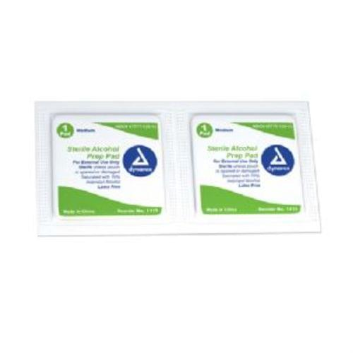 Sterile Alcohol Prep Pads Medium 200/BX