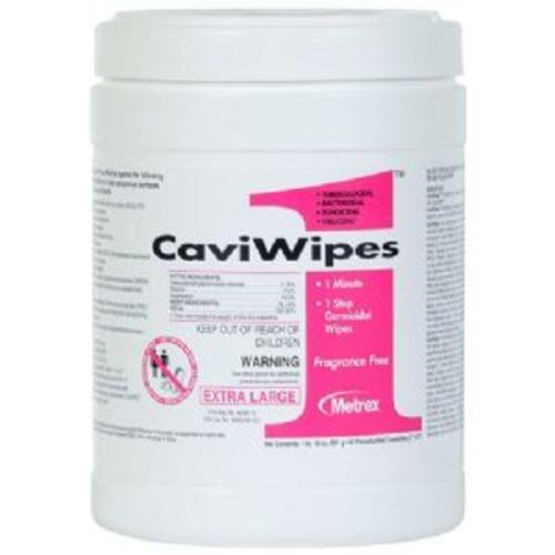 """CaviWipes1™ Surface Disinfectant (6"""" x 6¾"""") 160 Wipes Per Tub"""
