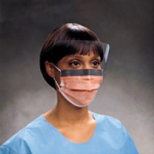 FLUIDSHIELD Level 3 Fog-Free Procedure Mask, WrapAround Visor, Orange NOW AVAILABLE!