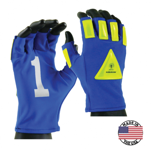Glo Glov Seattle Series High-Visibility Retro-Reflective Gloves (One Size)