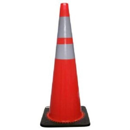 "36"" Traffic Safety Cone, Flourescent Orange"