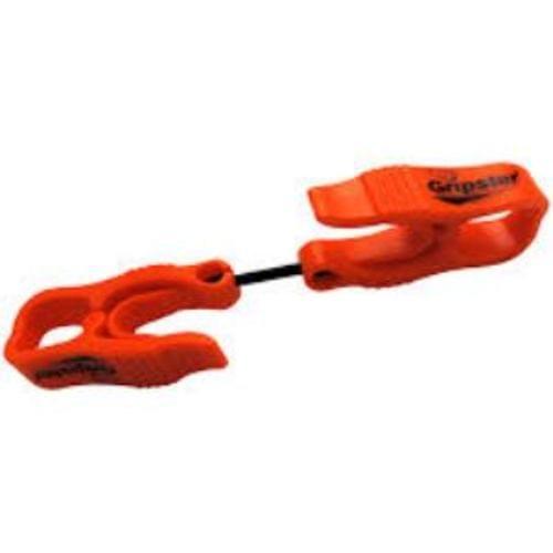 Gripster - Duel-Ended Glove Clip - Orange