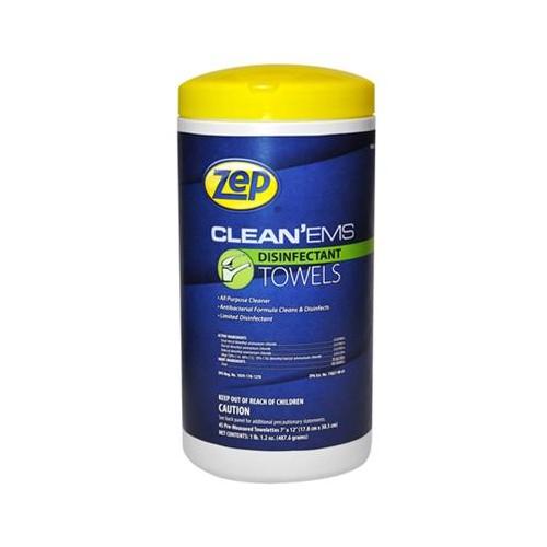 ZEP - Clean'Ems Disinfectant Towels