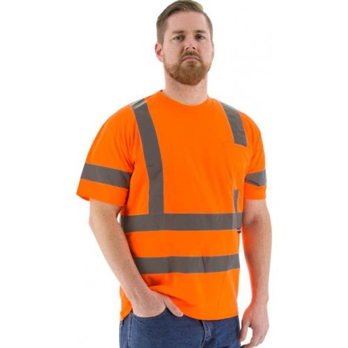 Majestic -HIGH VISIBILITY SHORT SLEEVE SHIRT, ANSI 3, R