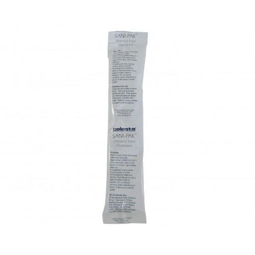 Celeste Sani-Pak Lavatory Deodorant, 80 gram tubes