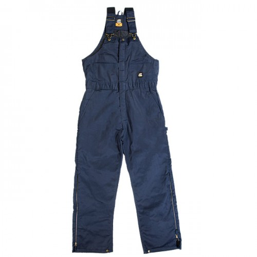 B414 - HERITAGE TWILL INSULATED BIB OVERALL - Navy