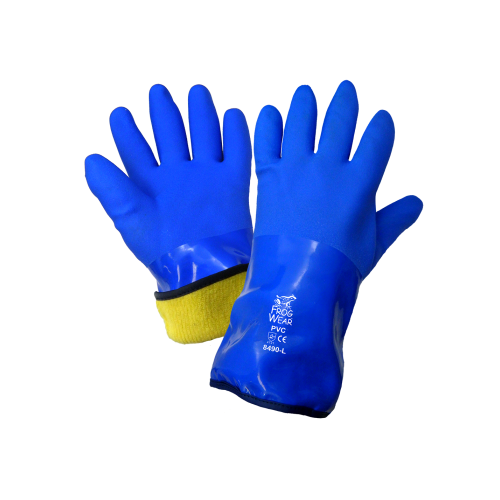 8490 - FrogWear® - Triple Dipped PVC Low Temperature Gloves