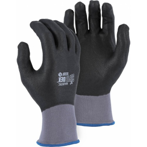 SUPERDEX FULL DIP MICRO FOAM NITRILE PALM COATED GLOVE ON NYLON SHELL
