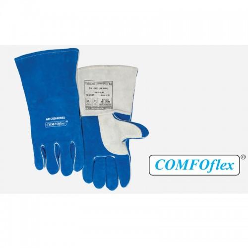 COMFOflex Blue Welding Gloves, Large