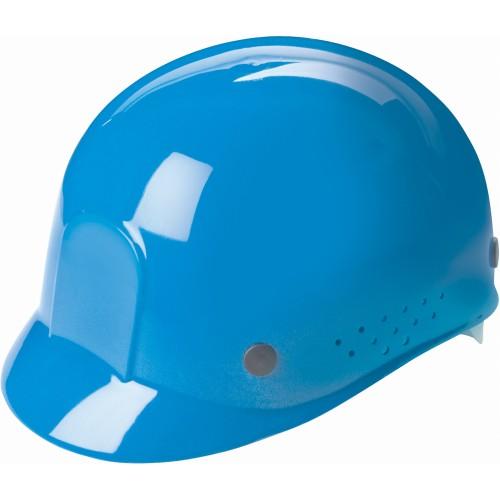 Blue Polyethylene Standard Plastic Vented Bump Cap